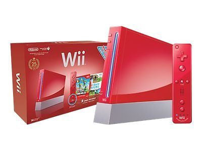 Nintendo Wii 25th Anniversary  Retropixl Retrogaming retro gaming Rare Console Collector Limited Edition Japan Import