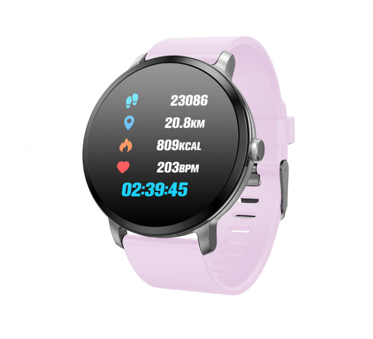 Smart Watch waterproof Tempered glass Fitness tracker