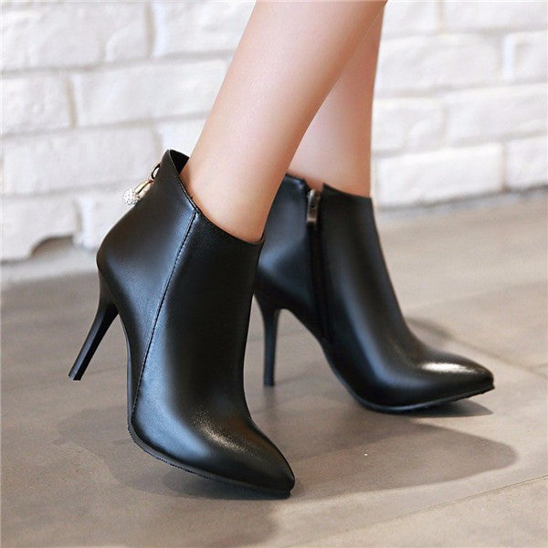 Meotina Women Boots Ankle Boots for Women
