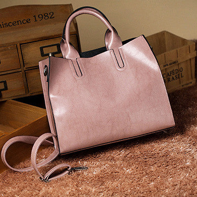 Leather Casual Women Bags Trunk