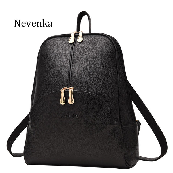 Women Backpack Leather Backpacks Softback Bags