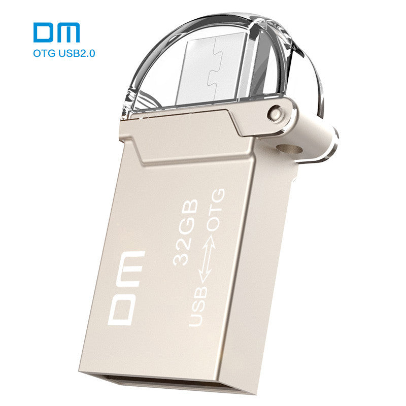 DM PD008  8G 16G 32GB USB2.0 with double connector used for OTG smart phone and computer
