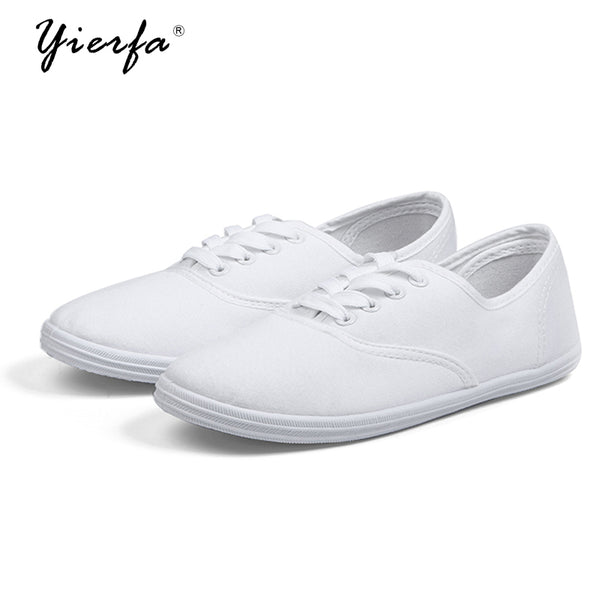 Women's spring canvas shoes female