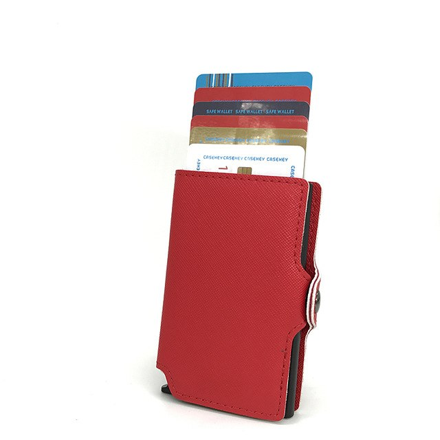 Antitheft High Quality Metal Men Card Holder Aluminium Credit Card Holder