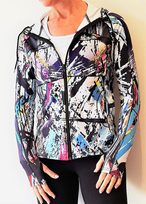 Limited Edition Gmaxx GRAFFITI V1 Sports Jacket