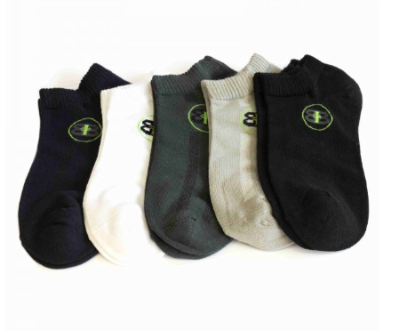 BAMBOO - Mens NO SHOW Socks 5 Pack