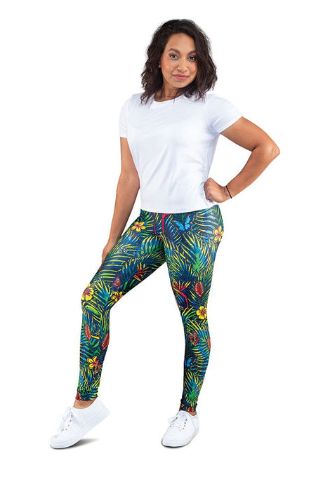 Rainforest Warrior Fashion Leggings