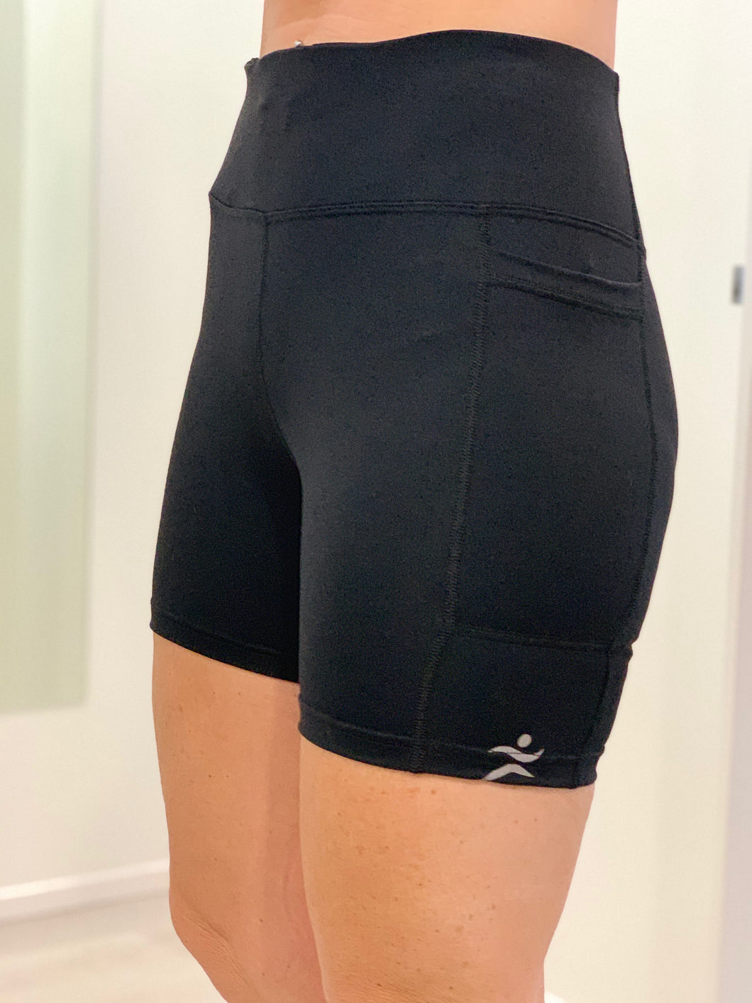 Active Bike Shorts, Black.