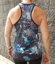 "Gmaxx ""Coolum Blue"" Racer Back Singlets. In sizes XS - 3XL."
