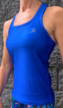 Gmaxx BREEZE Cobalt Blue Strappy Back Sports Top