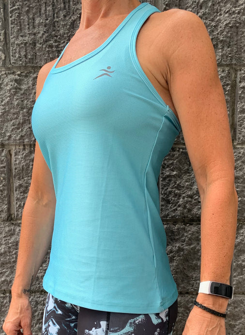 Gmaxx BREEZE 'Mint'  Strappy Back Sports Top