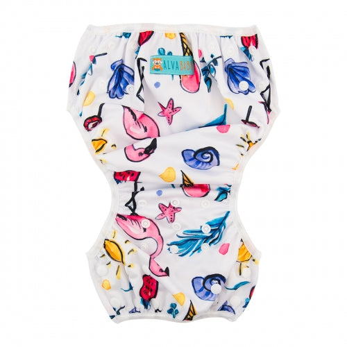 Alva Baby Swim Nappy (0-2 years) Flamingo