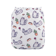NEW PRINT Alva Baby - Kitty and Cactus