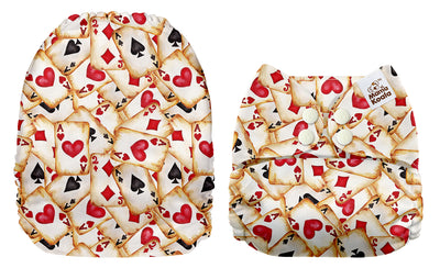 NEW Mama Koala Pocket Nappy - Hearts and Spades