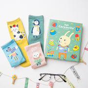 Green Bunny - 4 pairs