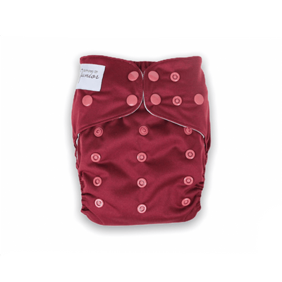 Junior Flex Cloth Nappy - Ruby