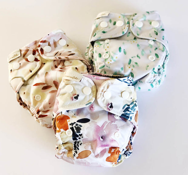 Bare and Boho NEWBORN V3 - Romantic Floral Three Pack Bundle