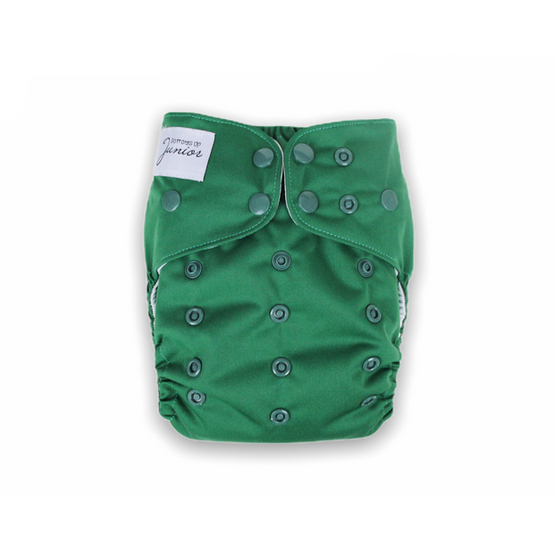 Junior Tribe Flex Cloth Nappy - Emerald