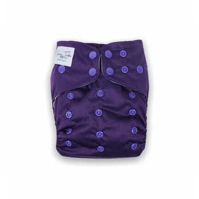 Junior Tribe Flex Cloth Nappy - Amethyst