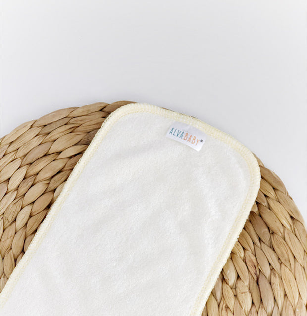 Alva baby 3-Layer BAMBOO Booster (one piece)