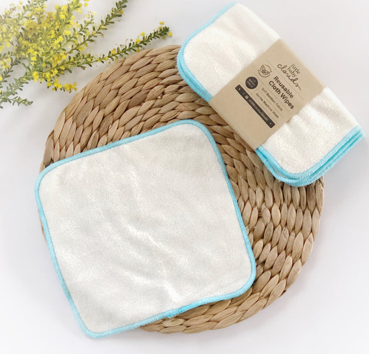 Little Baby Clouds Bamboo Wipes - Five Pack