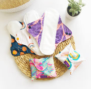 Primrose Reusable Cloth Pads - Paisley