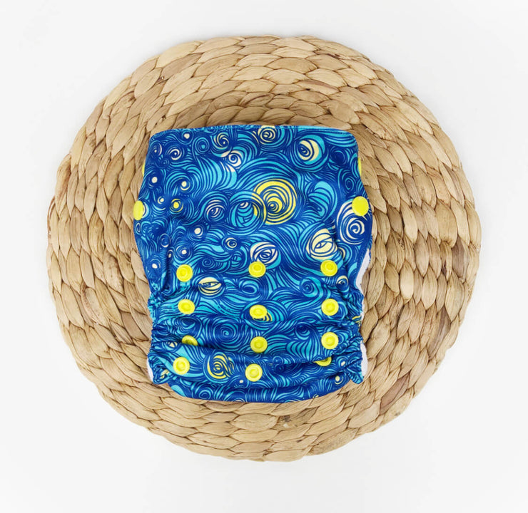 Bumpadum Duet Diaper - Starry Night
