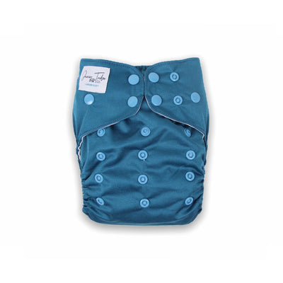 Junior Tribe Flex Cloth Nappy - London Blue