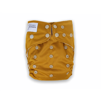 Junior Tribe Flex Cloth Nappy - Mustard