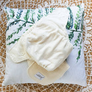 Bottoms Up Junior - Bamboo Fitted Night Nappy