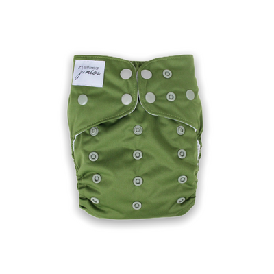 Junior Tribe Flex Cloth Nappy - Olive