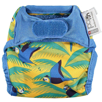 Close Pop-in Newborn Cloth Nappy - Parrot