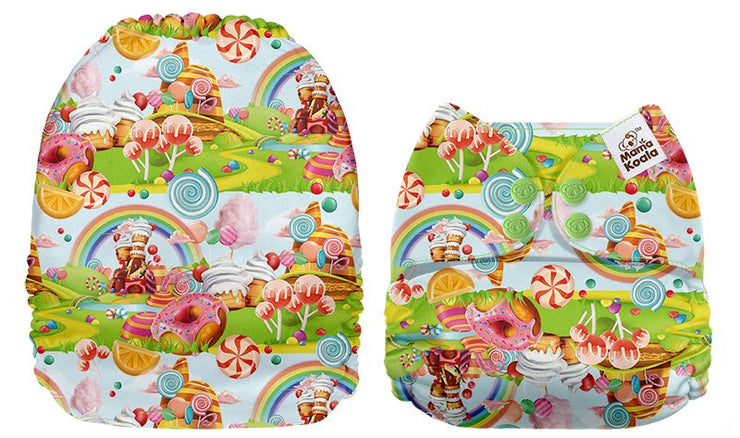 NEW Mama Koala Pocket Nappy - Candy Land
