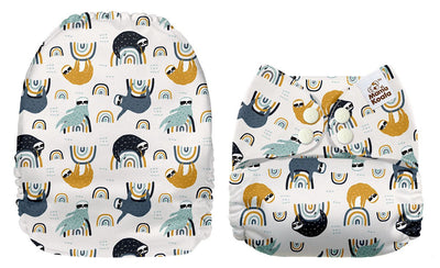 NEW Mama Koala Pocket Nappy - Rainbow Sloth