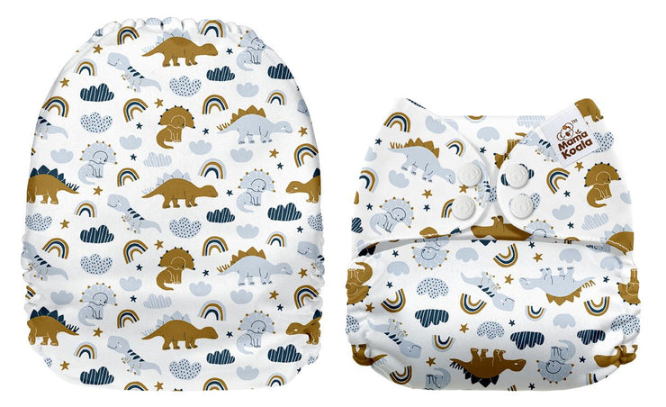 NEW Mama Koala Pocket Nappy - Scandi Dinos