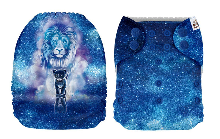 NEW Mama Koala Pocket Nappy - The Great Lion King  (POSITION PRINT)