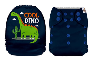 NEW Mama Koala Pocket Nappy - Cool Dino (POSITION PRINT)