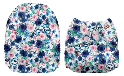 NEW Mama Koala - Blue and Pink Floral