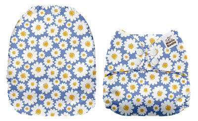 NEW Mama Koala -  White Daisies in Blue