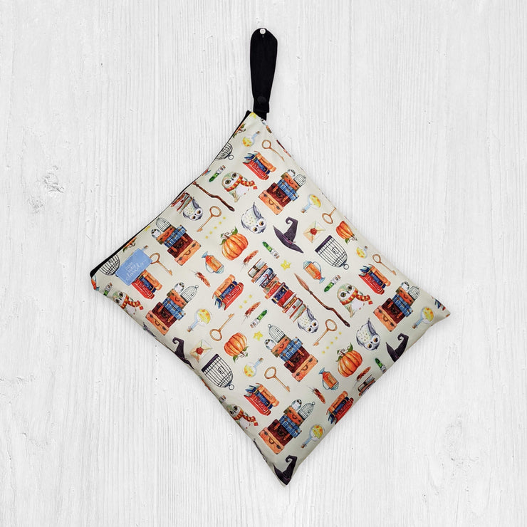 Little Baby Clouds Wet Bag  - Charms and Potions in Beige