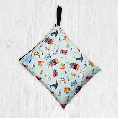 Little Baby Clouds Wet Bag  - Charms and Potions in Blue