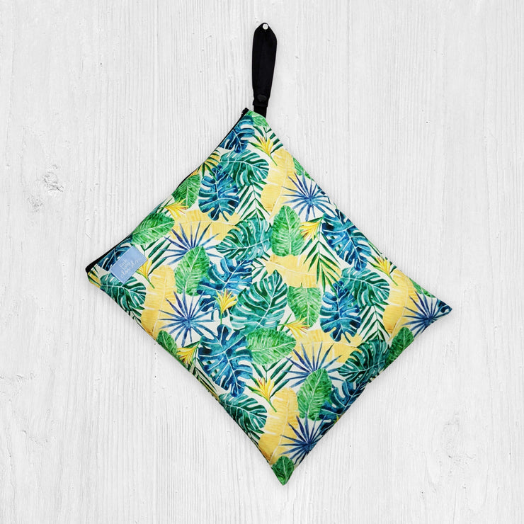 Little Baby Clouds Wet Bag  - Walk in the Tropics