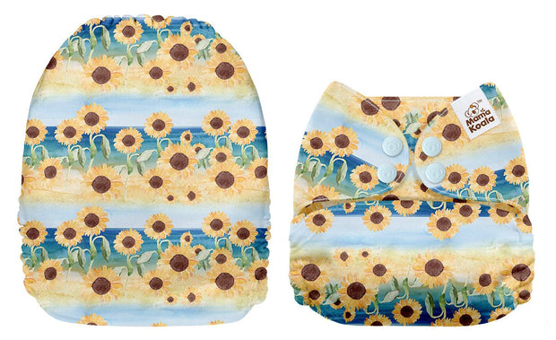 Mama Koala - Sunflowers in Blue