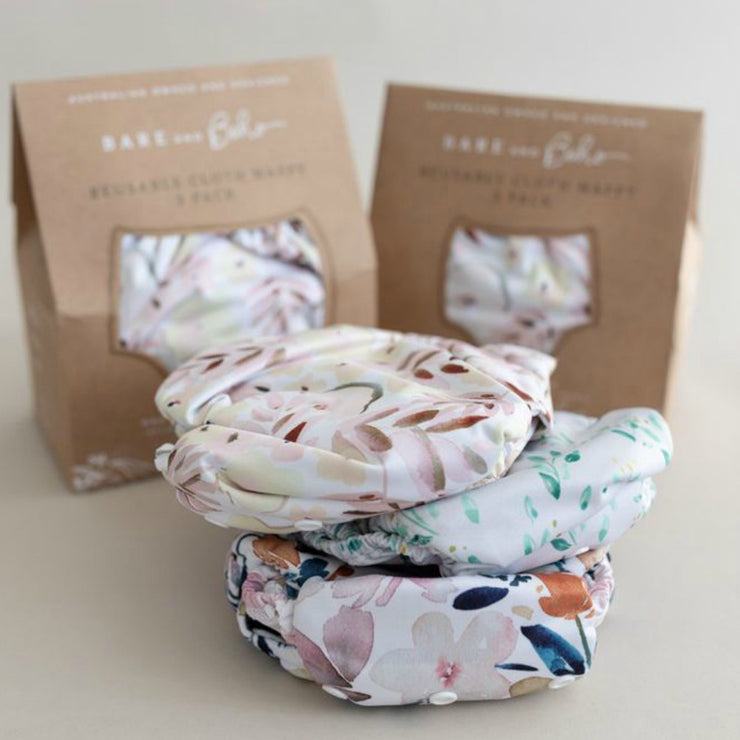 Bare and Boho One Size V3 - Romantic Floral Three Pack Bundle