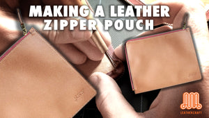 Making a zipper pouch
