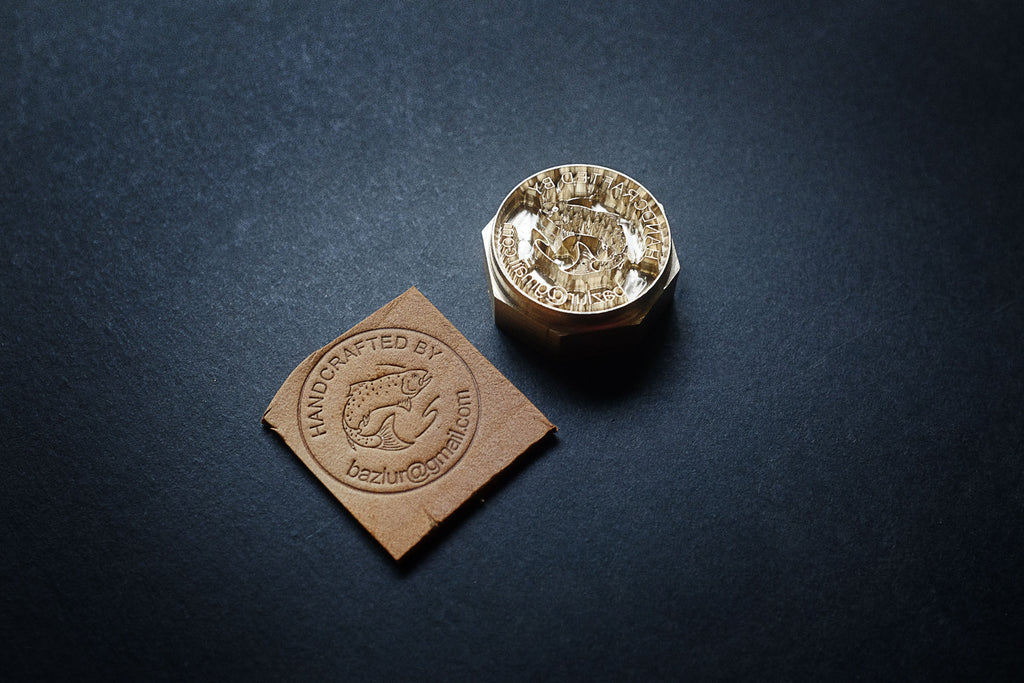 Order professional custom leather stamps