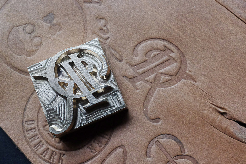 Get Your Custom Made Stamp By Am Leathercraft For Leather Projects