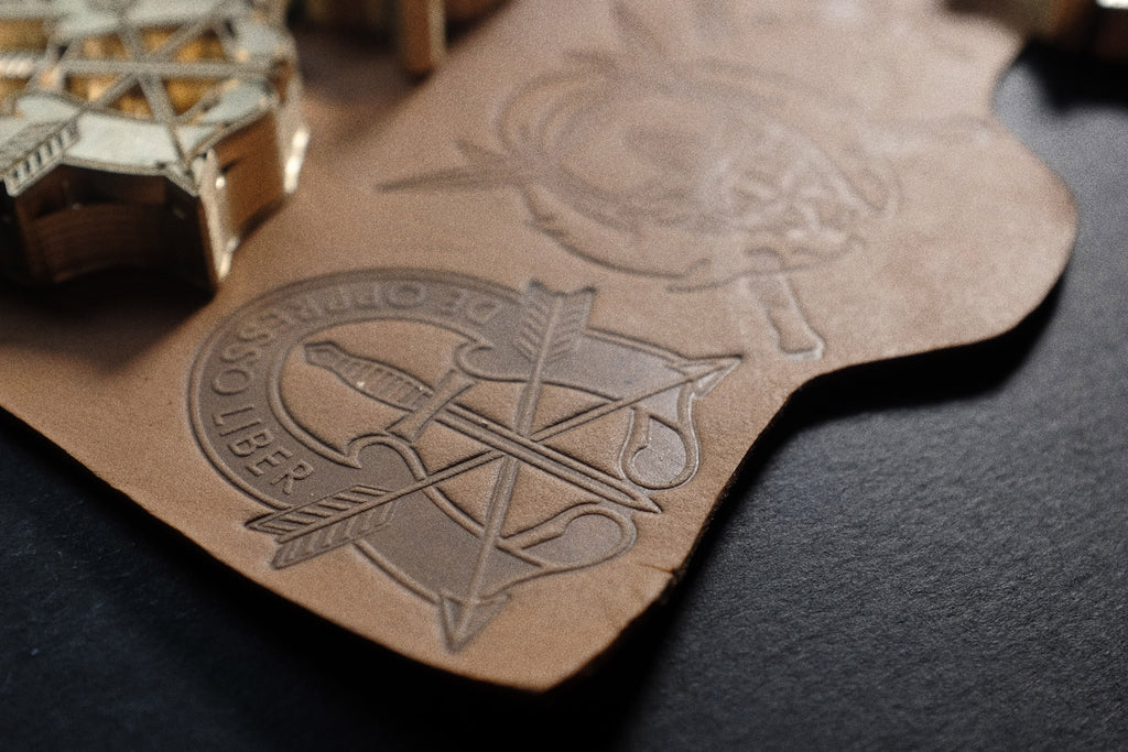 Get your custom-made stamp for your leather project made by us!