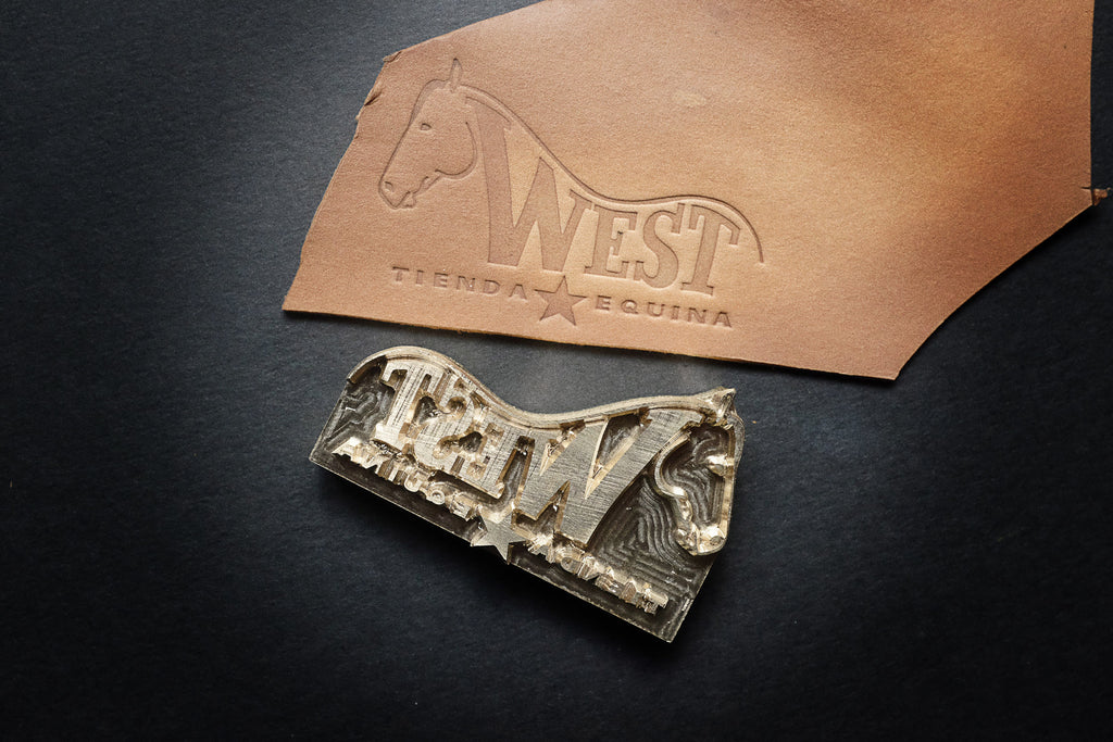 Order your custom-stamp for your leather project now!!!
