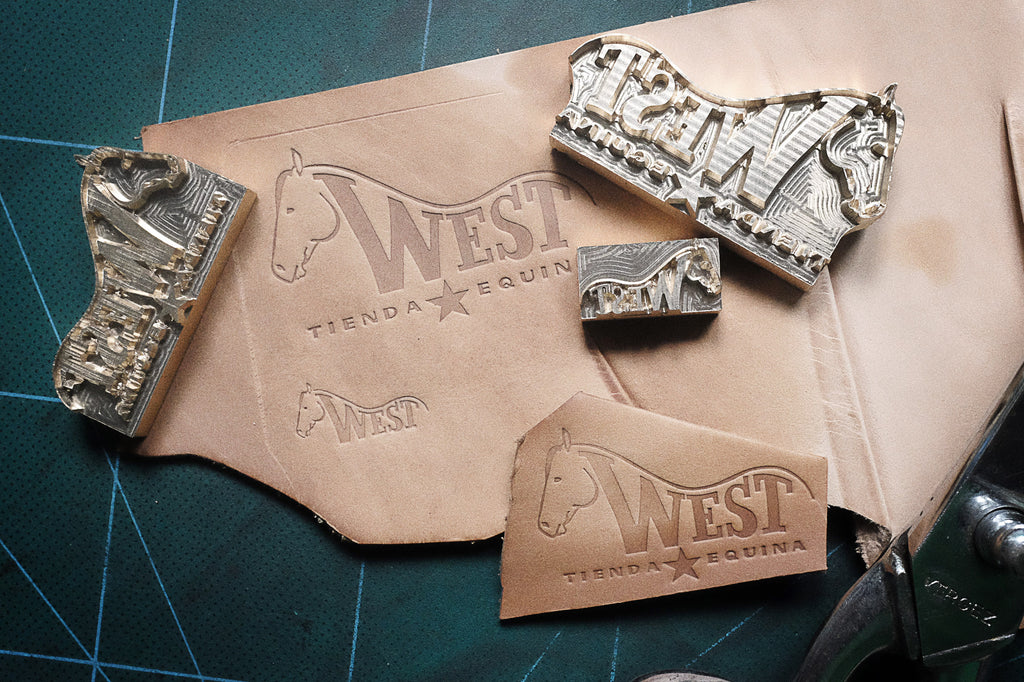 Order your custom-stamp for your leather projects on AM-leathercraft